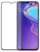 Защитное стекло для Samsung Galaxy A30 (A305) (2019) на дисплей, с рамкой, 4D, черный