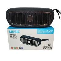 Портативная колонка, Massive Sound NBS-12.13.11, Bluetooth, USB, AUX, TF, черный