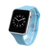Смарт-часы W8, microSim, 240*240 TFT, BT, 0,3Mp cam, microSD, голубой