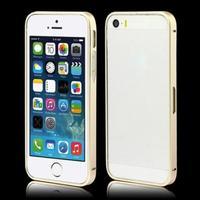 Бампер на Apple iPhone 5/5S, алюминий, золотистый
