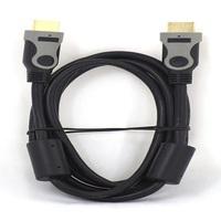 Кабель видео HDMI, SmartTrack K222, 1.4v, 2м, с фильтрами, черный