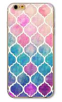Чехол-накладка на Apple iPhone 5/5S, пластик, symmetry 6