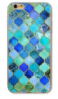 Чехол-накладка на Apple iPhone 5/5S, пластик, symmetry 10