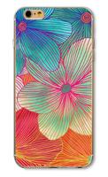 Чехол-накладка на Apple iPhone 5/5S, пластик, flowers #7