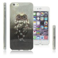 Чехол-накладка на Apple iPhone 6/6S Plus, силикон, painted owl