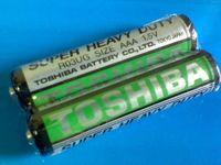Элемент питания AAA Toshiba солевая