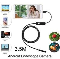 Камера эндоскоп microUSB/USB, 7мм, 3.5м, 640*480, IP67, с подсветкой