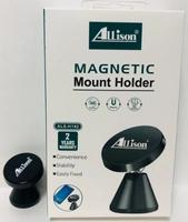 Автомобильный держатель, Allison ALS-H142, магнитный, черный