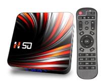 Медиаплеер H50, Android 10, RK3318, 2/16GB, SD, 2xUSB, HDMI, Wi-Fi AC, BT, LAN, SPDIF, AV