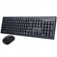Набор беспроводной клавиатура + мышь, Smart Buy 23335AG, полноразмерная, черный