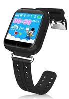 Смарт-часы Q750, детские, Sim, LCD, GPRS, Wi-Fi, GPS, черный
