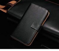 Чехол-книжка на Samsung S2 нат.кожа, черный