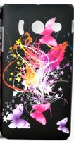 Чехол-накладка для Huawei Ascend Y300 пластик, butterfly 2