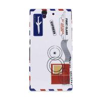 Чехол-накладка на Sony Xperia Z пластик, Air mail