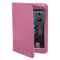 Чехол Smart-case для Apple iPad mini 1,2,3, кожа, розовый