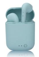 Гарнитура беспроводная, TWS mini-2, Bluetooth 5.0, сенсорное управление, голубой