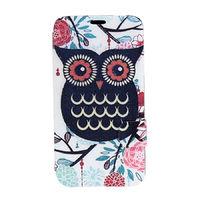 Чехол-книжка на Samsung Note 3 полиуретан, owl