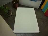 Чехол Smart-cover для Samsung Galaxy Tab S 10.5, полиуретан, трансформер, белый