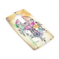 Чехол-накладка LG G4 силикон, paint 1