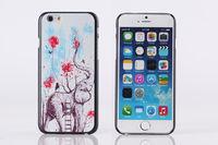 Чехол-накладка на Apple iPhone 6/6S, пластик, elephant 2