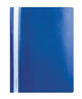 Скоросшиватель для файлов, inФОРМАТ, пластиковый, 180мкм, синий