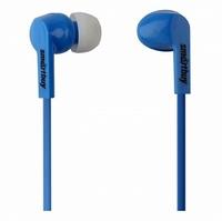 Наушники Smart Buy PRIME, вакуумные, 1.2 м, динамики 10мм, 3 пары вставок, синий (SBE-130)