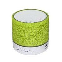 Портативная колонка, Noname, S10 LED mini, Bluetooth, microSD, USB, зеленый