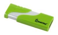 Память USB 2.0 Flash, 32GB, Smart Buy Hatch Green