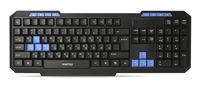 Клавиатура Smart Buy 221 ONE (SBK-221U-K), USB, мультимедийная, игровая, черный