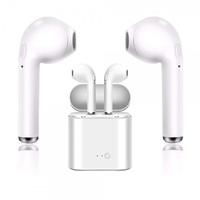 Наушники с микрофоном, SmartBuy TWS i7 mini, Bluetooth, микрофон, белый