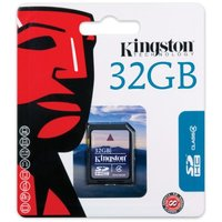 Карта памяти SDHC 32GB Kingstone, Class 4