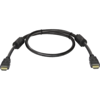 Кабель видео HDMI, Defender, 1.4v, 1м, черный