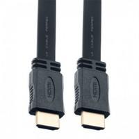 Кабель видео HDMI, Perfeo H1303, 1.4v, 3м, плоский, черный