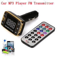FM-модулятор, Noname, SD/microSD, 2xUSB, 5кн, функция заряда, пульт