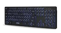 Клавиатура проводная Smart Buy 328 ONE (SBK-328U-K), USB, с подсветкой, черный