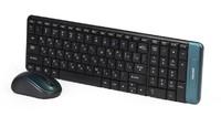 Набор беспроводной клавиатура + мышь, Smart Buy 222358AG, полноразмерная, черный