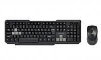 Набор беспроводной клавиатура + мышь, Smart Buy 230346AG-KG полноразмерная, черно-серый