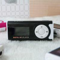 MP3-плеер с дисплеем, microSD, с фонариком, (без кабеля, без наушников), черный
