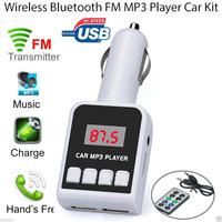 FM-модулятор, Noname, microSD, 2xUSB, 4кн,  пульт