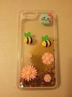 Чехол-накладка на Apple iPhone 6/6S, пластик, 3D, цветы