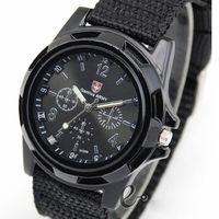 Часы наручные Noname, ц.черный, р.черный, текстиль