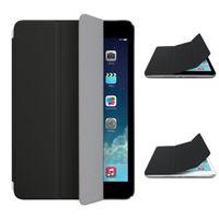 Чехол Front-cover для Apple iPad mini 1,2,3, полиуретан, черный