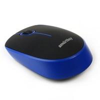 Мышь беспроводная, Smart Buy SBM-368AG-KB, оптическая, 3кн, черный, синий