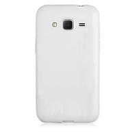 Чехол-накладка на Samsung Core Prime (G360) силикон, ультратонкий, белый