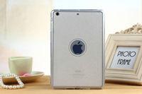 Чехол-накладка для Apple iPad mini 1,2,3, силикон, блестящий, белый
