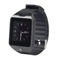 Смарт-часы ZD09, microSim, 240*240 TFT, BT, 0,3Mp cam, microSD, черный (УЦЕНКА: англ.язык)