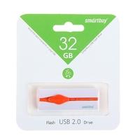 Память USB 2.0 Flash, 32GB, Smart Buy Comet White