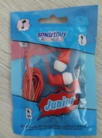 Наушники Smart Buy JUNIOR вакуумные, 1.2 м. красный (SBE-540)