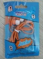 Наушники Smart Buy JUNIOR вакуумные, 1.2 м. оранжевый (SBE-550)