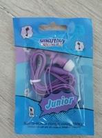 Наушники Smart Buy JUNIOR вакуумные, 1.2 м. фиолетовый (SBE-560)